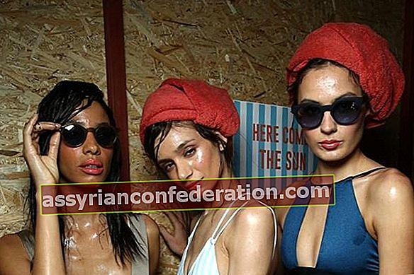 Pertunjukan Fesyen Pertama dari Pakaian Renang dan Kedudukan Ke-5 Jenama Bikini