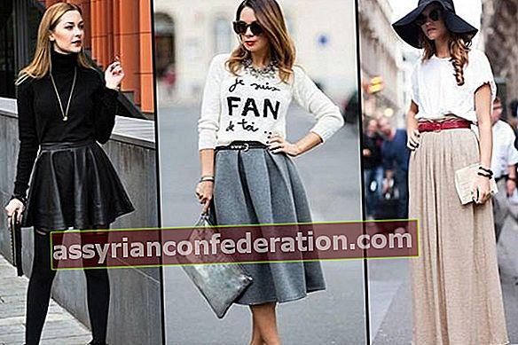 Panjang skirt mana yang sesuai dengan anda?