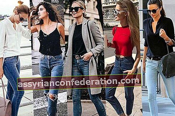 6 seluar jeans yang mesti dipakai wanita dengan kaki pendek