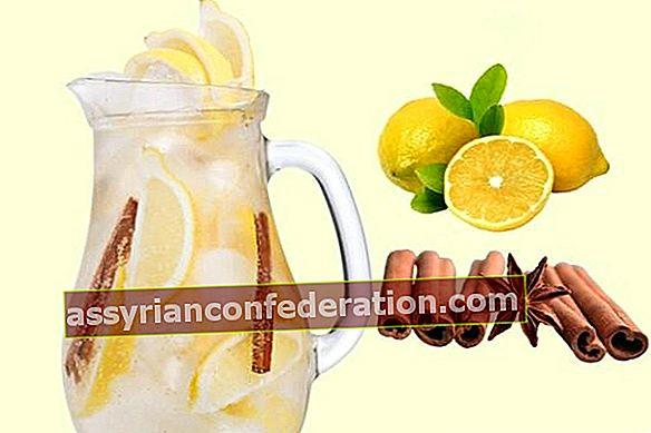 레몬 계피 물이 약해 질까요?