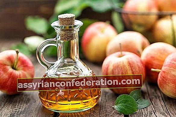 Dì addio all'acne con l'aceto di mele