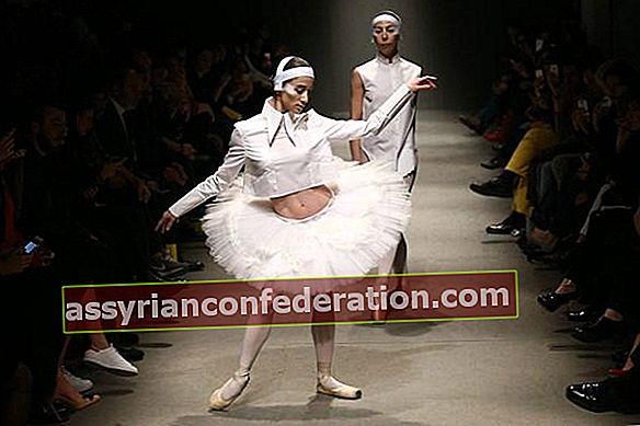 Mercedes-Benz Fashion Week Istanbul White Posture Fashion Show