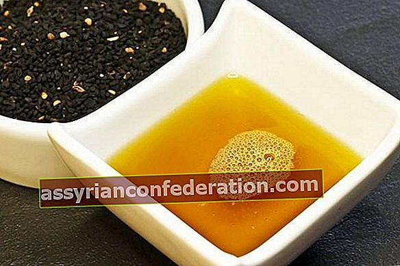 Olio di semi neri per la caduta dei capelli!