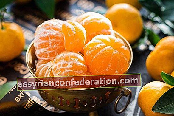 Fai attenzione a questi mentre mangi i mandarini!