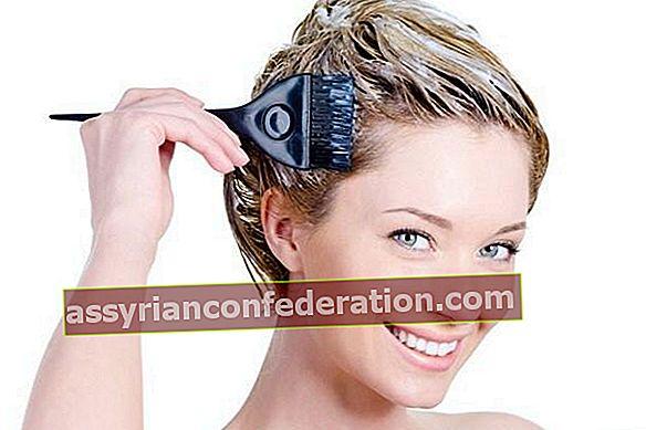 Metodi di scorrimento della tintura per capelli