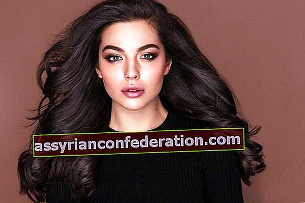 Per chi è buono il colore dei capelli castano scuro? Scorre? Come mantenere?