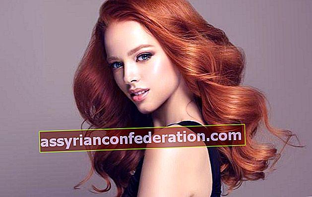 Per chi è buono il colore dei capelli rossi? Scorre? Come mantenere?