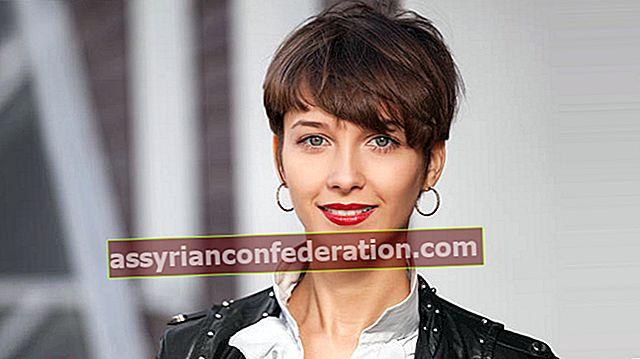 Per chi è buono il colore dei capelli castani? Il colore dei capelli castani scorre? Come mantenere?