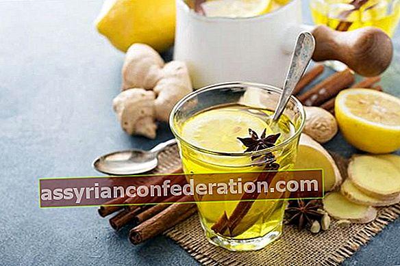 Ricetta del tè per alleviare l'edema e il gonfiore